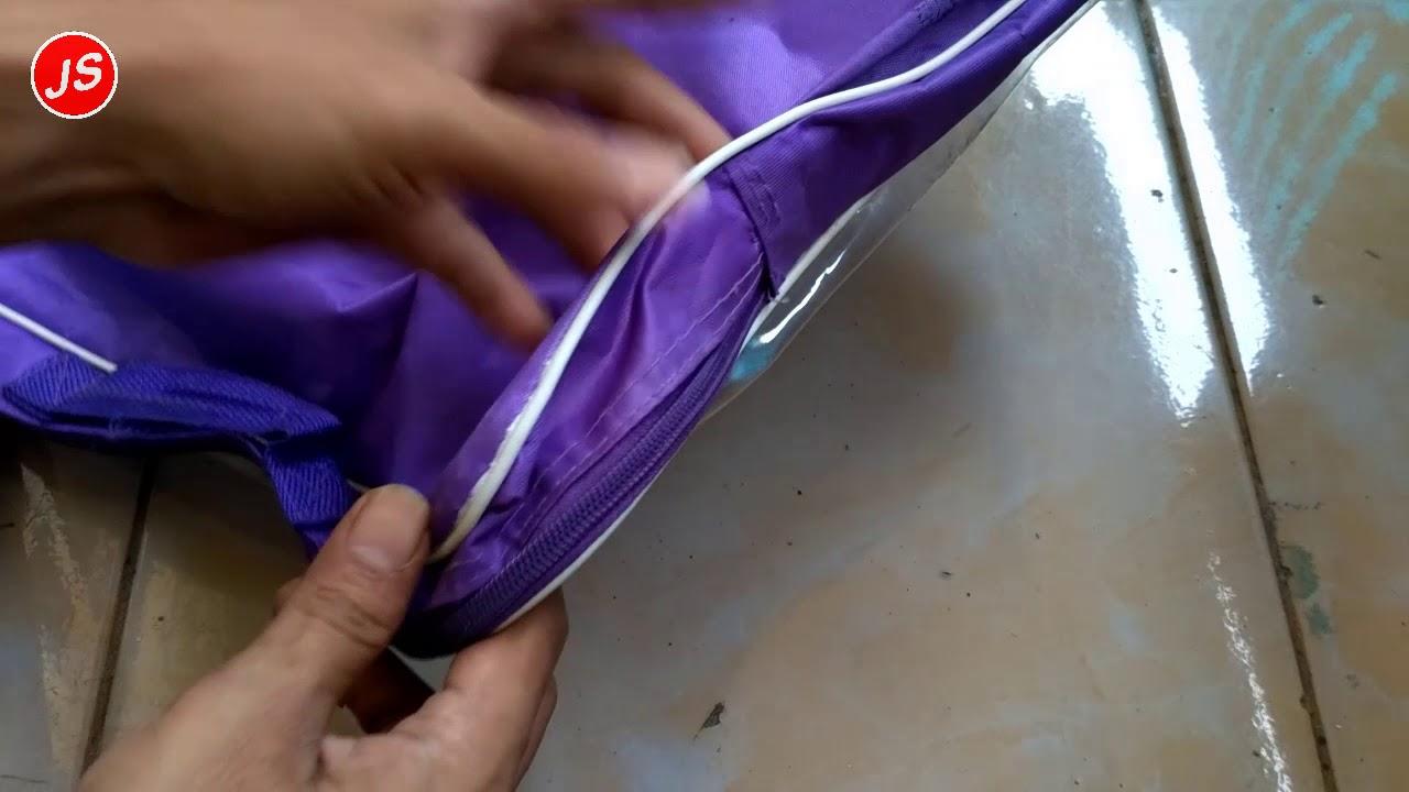 Cara Memperbaiki Resleting Tas Yang Rusak Dengan Mengganti Bagian