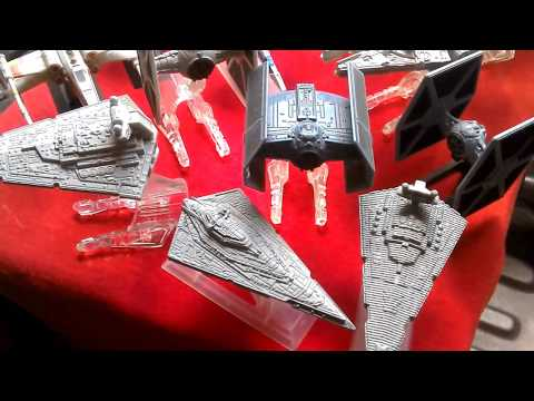 STAR WARS SHIPS: HOT WHEELS Vs TITANIUMS