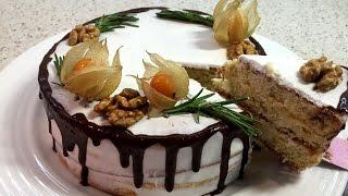 """Диетический торт """"Лимончелло"""". Низкоуглеводный торт. Lemoncello diet cake."""
