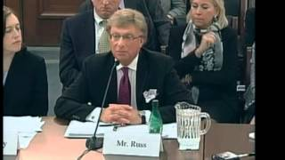 LEN RUSS SPEAKING BEFORE E & C COMMITTEE ON CAPITOL HILL