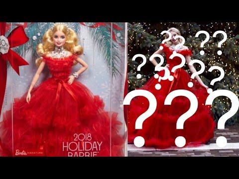 I Turned Myself into Holiday Barbie