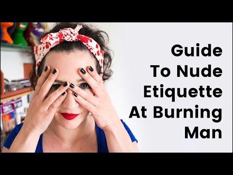 Nude Etiquette at Burning Man