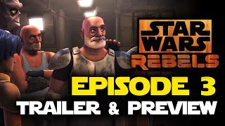 Star Wars Rebels Season 2, Episode 3 Trailer and Preview - A Sticky Situation