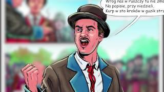 Zawód żołnierz (Telewizja Republika) odc. 2 - Ryszard Lemański, logistyk, autor komiksu o Kurpiach