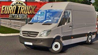 Sprinter Mercedes Benz - Euro Truck Simulator 2