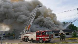 Fire Downtown Northborough