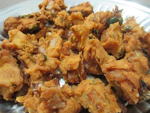 Onion Pakoda (in tamil)