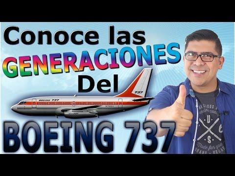 ¡TODAS LAS GENERACIONES DEL BOEING 737! (#55)