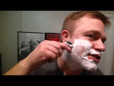 Crazy Double Edge Razor Shave Without The Safety Plate ! ! !
