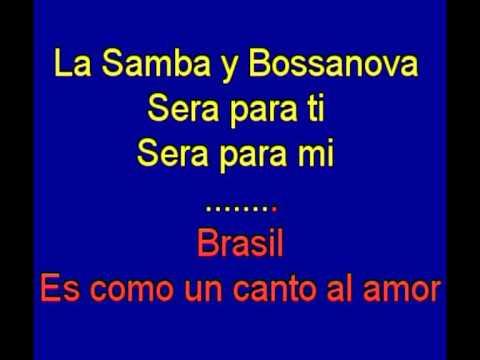 Acuarela de brasil -  Ari Barroso -  karaoke   Tony Ginzo