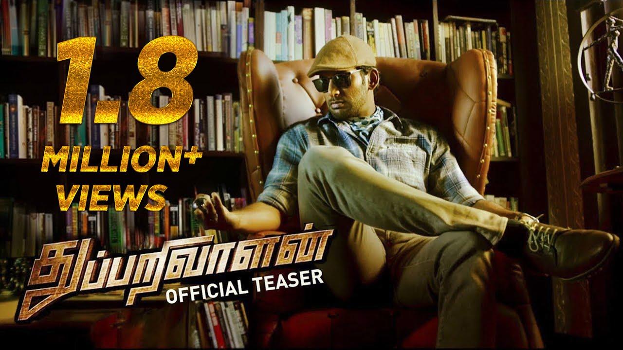 Thupparivaalan - Official Teaser | Vishal, Prasanna, Andrea Jeremiah, Anu Emmanuel | Mysskin