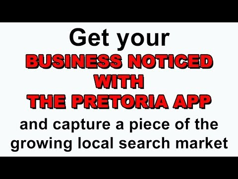 Intro to The Pretoria App for Business Owners