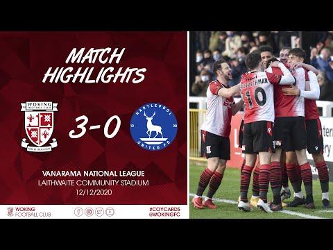 Woking Hartlepool Goals And Highlights