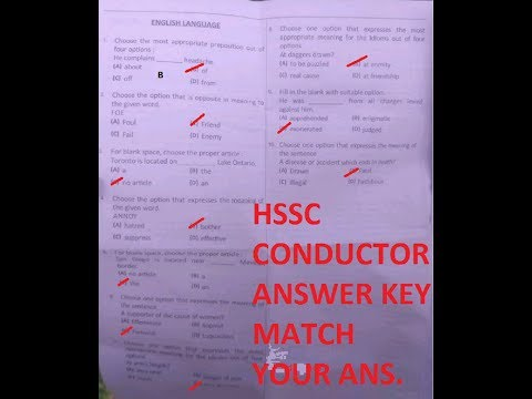 CONDUCTOR ANSWER KEY FULL EXAM( 10/09/2017 )(PART 1)