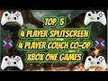 Top 5 4 Player Couch Co-op/Split-Screen Games Xbox One