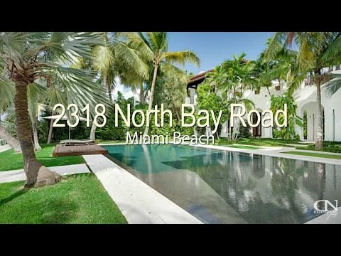 2318 North Bay Road Miami Beach Waterfront House Most Expensive House For Sale