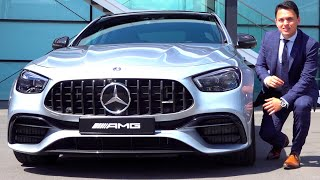 2021 Mercedes AMG E63 - ALL NEW Sedan Review Sound Interior Exterior Infotainment