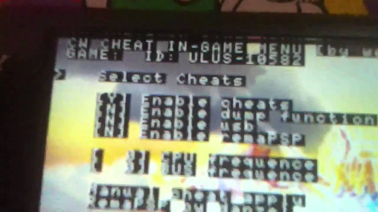 My psp cwcheat has no cheat help!