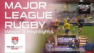 Major League Rugby Recap and Predictions. Steve Lewis, Matt McCarthy, Ronan Nelson  RUGBY WRAP UP