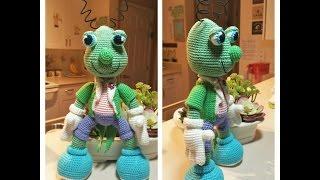Цвіркун Іграшка В'язання гачком Майстер-клас з м/ф ''Піноккіо'' частина 1