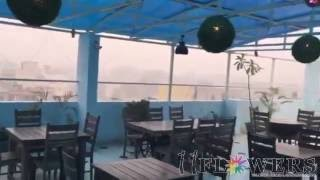 Beautiful Rainy View at  11 FLOWERS Rooftop & AC Restaurant - Vrindavan