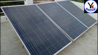 Solar panels  series connection | YK Electrical