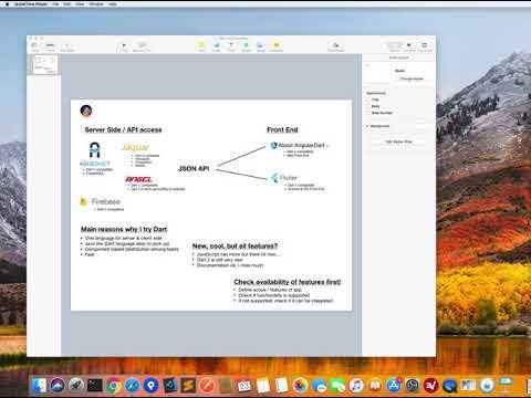 Available Dart Frameworks (Flutter, AngularDart, Aqueduct