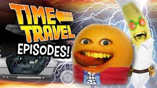 Annoying Orange - Time Travel Episodes! (Supercut)