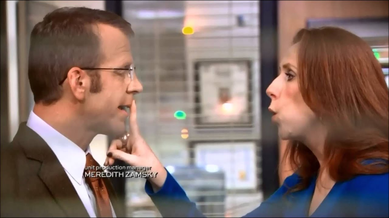 The fice Toby kisses Nellie