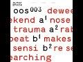 Thumbnail for deweekend - makes sensi