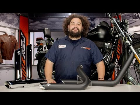 Thumbnail for Vance & Hines Exhaust for Harley Dyna & Softail