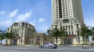 建築動畫  總太建設【東方帝國】聖工坊2008