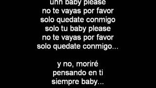 Allison - Baby Please (Letra)