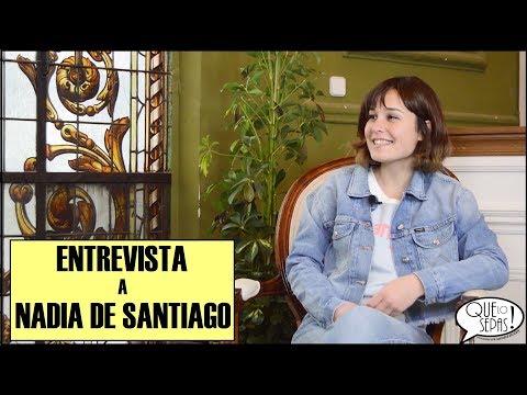 ENTRE VISTA 2, NADIA DE SANTIAGO: LAS CHICAS DEL CABLE | QUE LO SEPAS! (01X13)