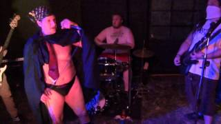 Eviscerated Zombie Tampon - Salt Theater - Gainesville, FL - July 22 2014 - Funk as Puck