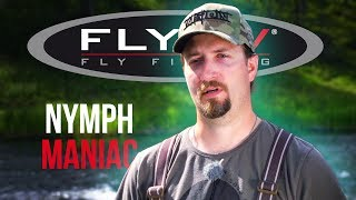 FLY TV  Nymphmaniac (Nymph Fly Fishing for Grayling)