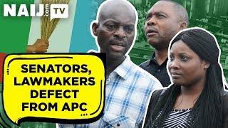 News Nigeria Today: Will Senators, Lawmakers' Defection from APC Change Power in 2019?   Naij.com TV