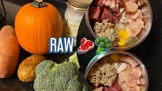 Raw dog food for my Malamutes | raw feeding