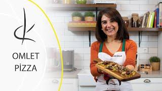 Omlet Pizza I Dilara Koçak I Afiyetle Diyet