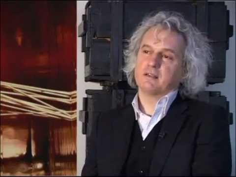"TV SHOW ""ART STUDIJA"" 2011. Director and performance artist Romeo Castellucci."