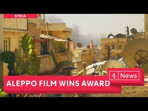 Aleppo documentary wins European short film of the year