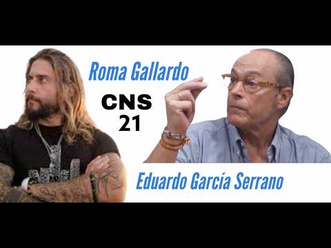 CNS 21 Eduardo García Serrano desatado.