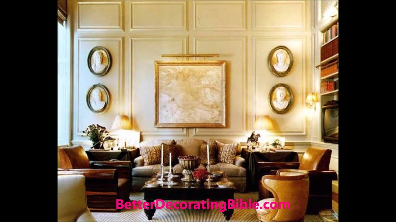 Living Room Interior Decorating Ideas - YouTube