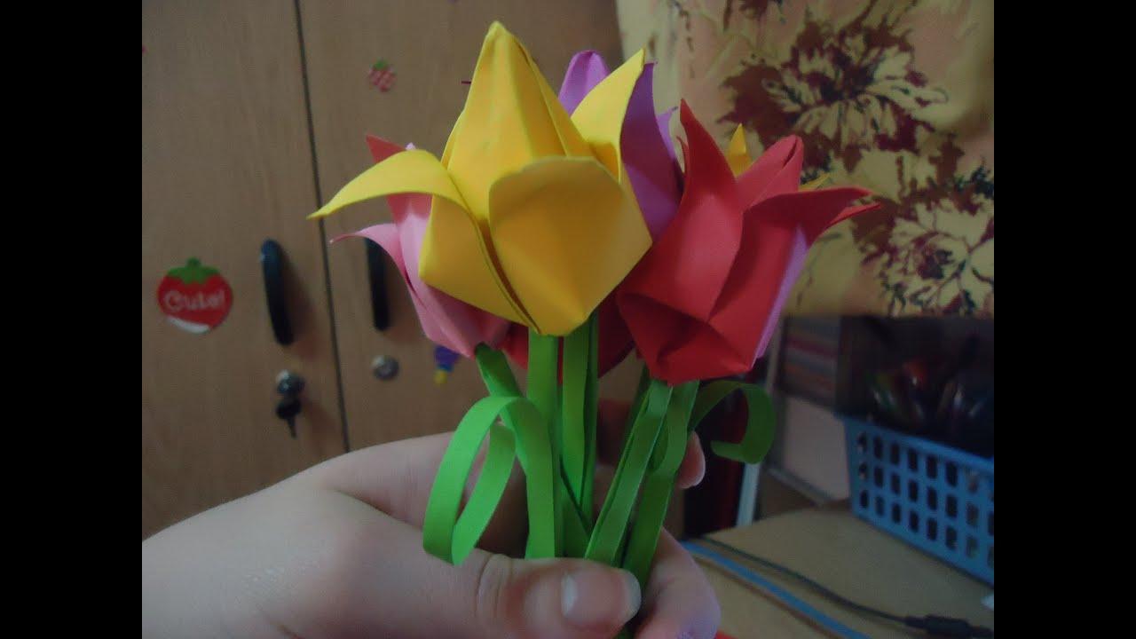 Lalea Tulip Origami Tutorial