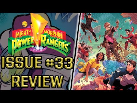 Mighty Morphin Power Rangers Issue #33 Review