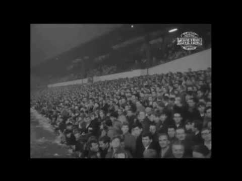 Wolves v Manchester United, FA Cup Quarter-final, 10th March 1965