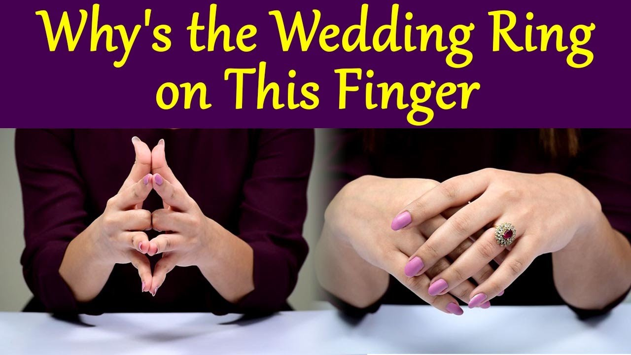 Wedding Ring Finger Why Do We Wear Wedding Rings 4th Finger Of Left Hand Know The Reason Boldsky