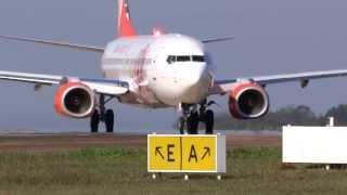 PR GXC  NOVÍSSIMO BOEING 737 800 DECOLANDO DO AEROPORTO DE LONDRINA.