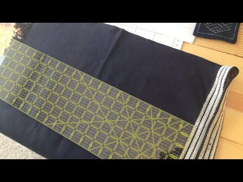 How to draw Asanoha pattern on fabric | Sashiko Preparation