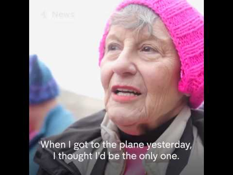 Women's March across America and the World | Protest Against Trump |